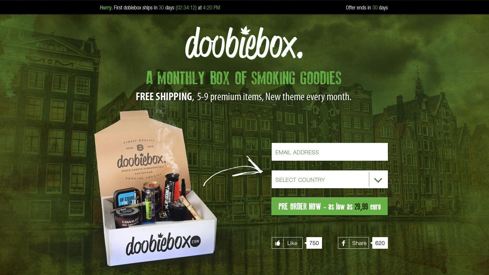 doobiebox-landing