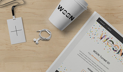 Woon Furniture - PSD to Email Conversion