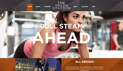 Train Station - WordPress integration