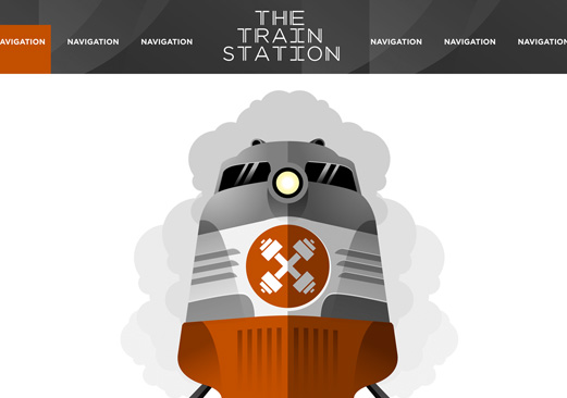 The Train Station - WordPress integration